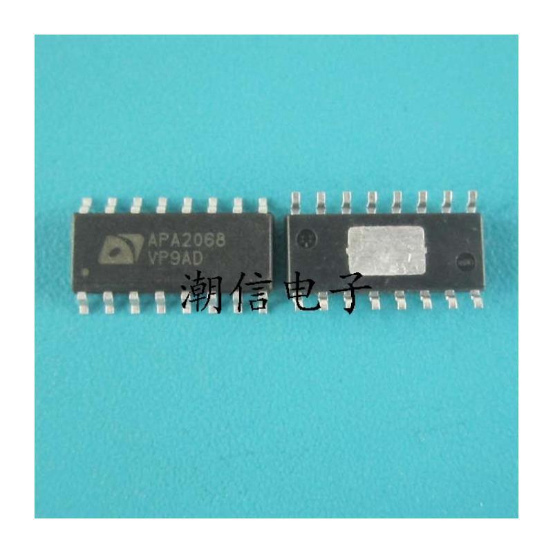 CazenOveyi 5pcs lot apa2068 stereo 2 6w audio power amplifier