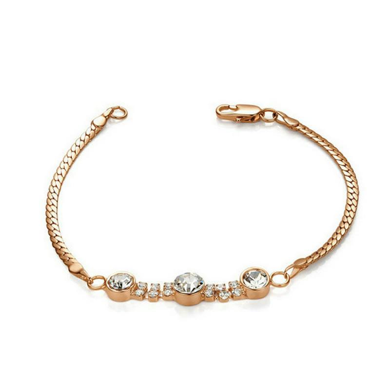 yoursfs Роза золотой браслет soul diamonds женский золотой браслет с бриллиантами bdx 120168