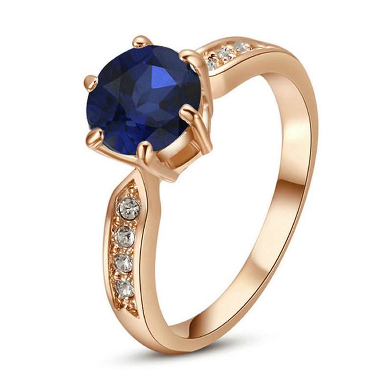 yoursfs Blue 7 yoursfs® 18k white gold plated simulated ruby promise heart rings используйте австрийские ювелирные украшения из кристалла