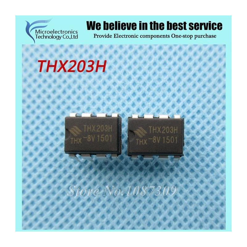 CazenOveyi 10pcs free shipping thx203h thx203 dip8 pwm switng converter dip 8 new original