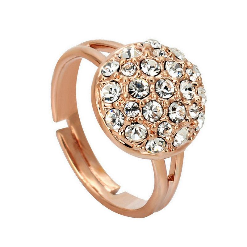 yoursfs Роза золотой 7 кольца