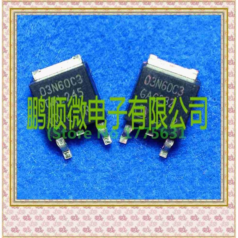 CazenOveyi 50pcs lot 03n60c3 to252