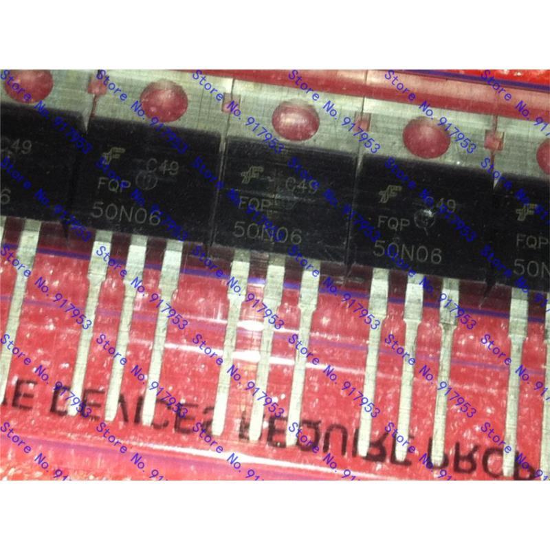 CazenOveyi free shopping 20pcs 50n06 sfp50n06 fqp50n06 kia50n06 60v n channel mosfet d conductor