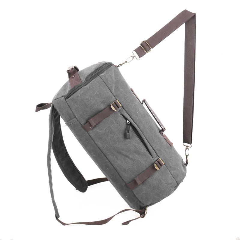 YEMIGE Черный ретро рюкзак мужчина пар рюкзак брезент сумка рюкзак для подростков туризм спортивная сумка кемпинг