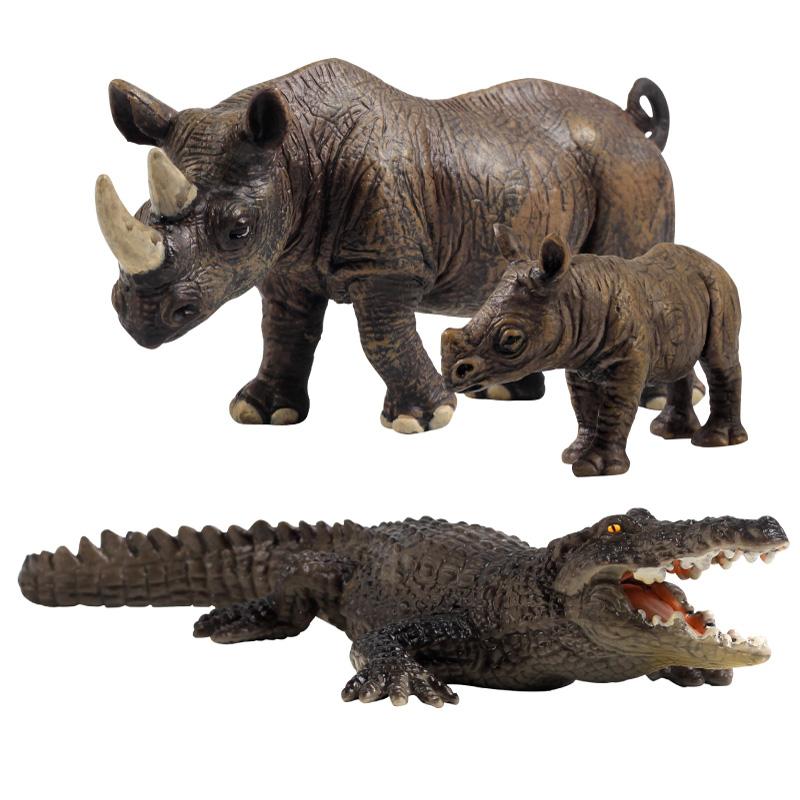 SURPRESAV 3-6 лет superior qualitynile crocodile plush toy alligator crocodile real life plush toy stuffed animal doll for kid gift 75cm