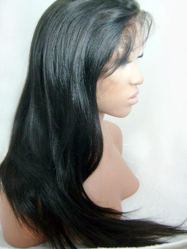 парик BOND 18 inches 180% density unprocessed full lace wigs long black wig glueless virgin brazilian hair curly wigs for fashion black women