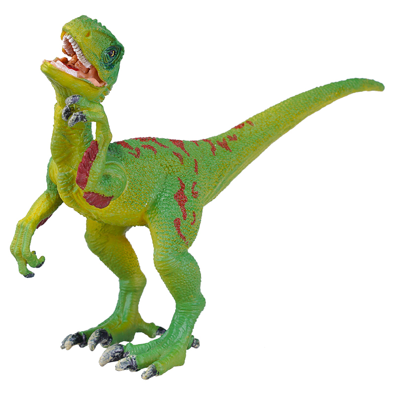 SURPRESAV Velociraptor jurassic monster action tyrannosaurus rex can use electric to lay an egg with light simulation model children s toy