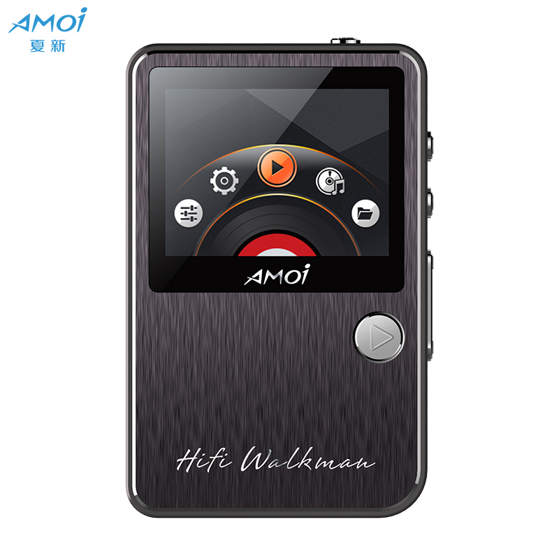 JD Коллекция amoi amoi с10 mp3 музыкальный плеер без потерь качество звука hi fi аудиофилов hd плеер мини портативный walkman
