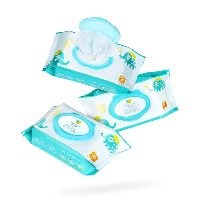 JD Коллекция Детские влажные салфетки руку пакет рот 80 3 дефолт danone биойогурт густой термостатный 1 5% 250 г
