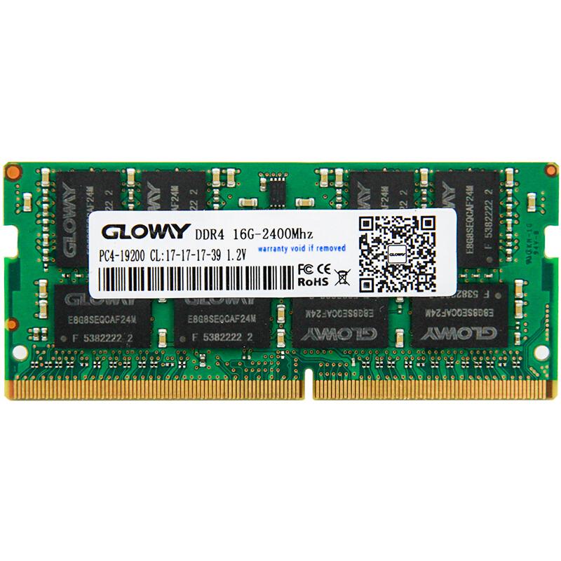 JD Коллекция для Ноутбука DDR4 2400MHz 16GB gloway войны ноутбук памятьram ddr4