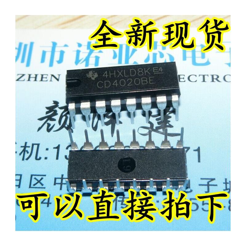 CazenOveyi 100pcs cd4020be cd4020b cd4020 dip 16 make in china