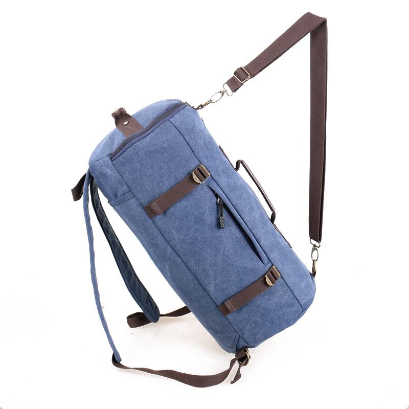 YEMIGE Синий ретро рюкзак мужчина пар рюкзак брезент сумка рюкзак для подростков туризм спортивная сумка кемпинг