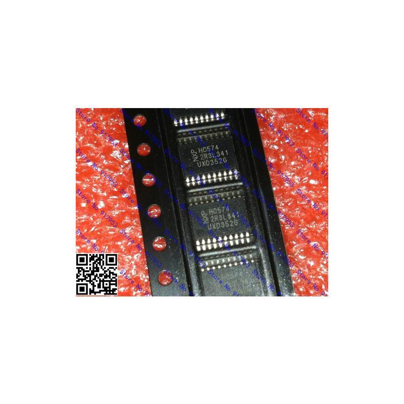 CazenOveyi free shipping 10pcs lot 74hc574d 74hc574 sop 20 ic 100