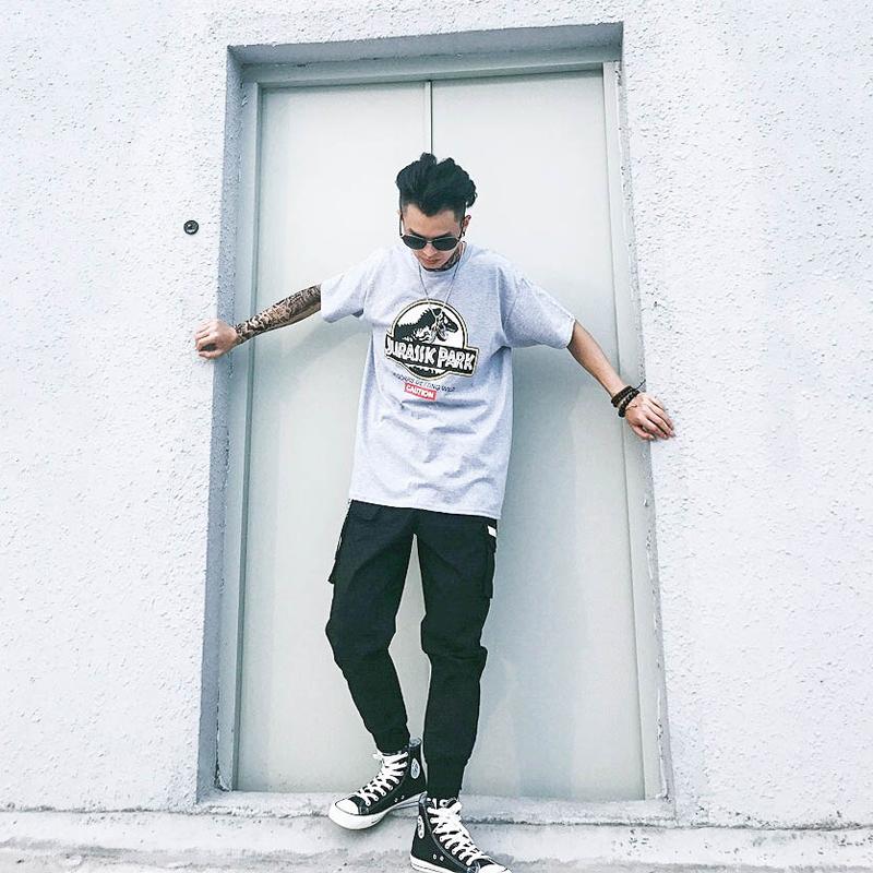 Andralyn Серый цвет Номер XL футболки