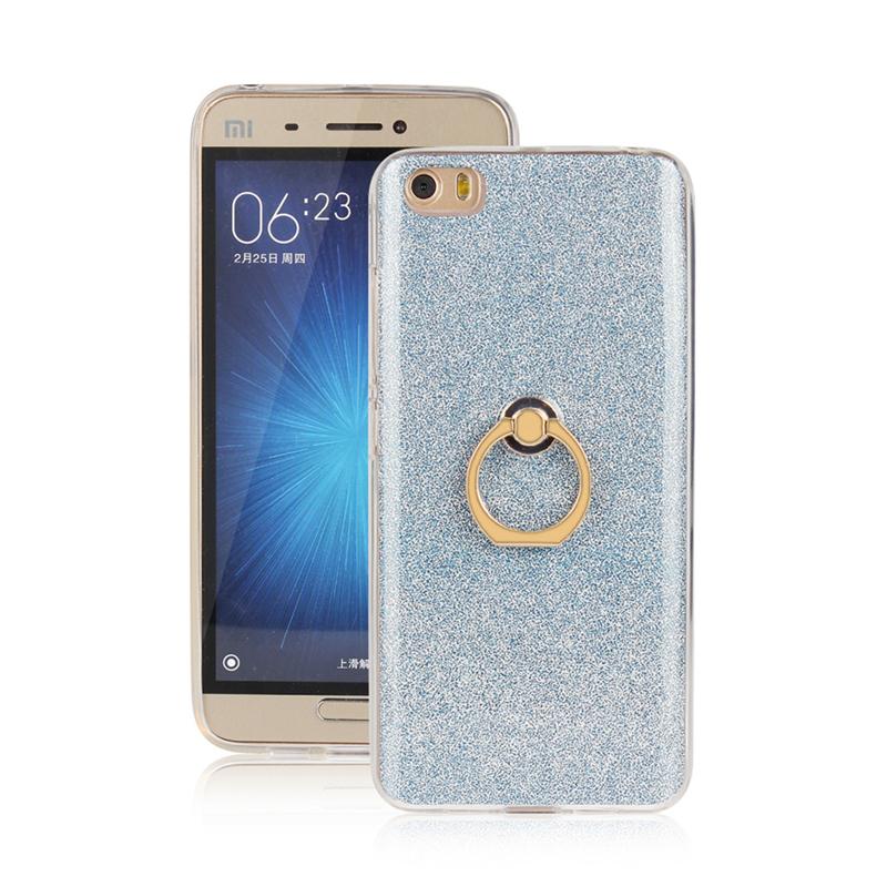 GANGXUN синий gangxun xiaomi mi 5 case роскошный мерцающий kickstand anti shock case для xiaomi mi 5