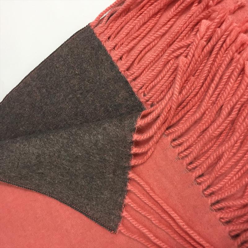 MEGIR Orange 175cm woolly boolly шарф