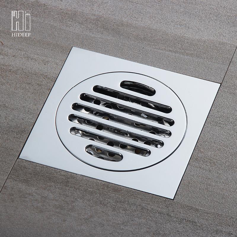 HIDEEP дренаж с перекрытий Земельный дренаж hideep оборудование и аксессуары для ванной комнаты ванная дренаж с перекрытий