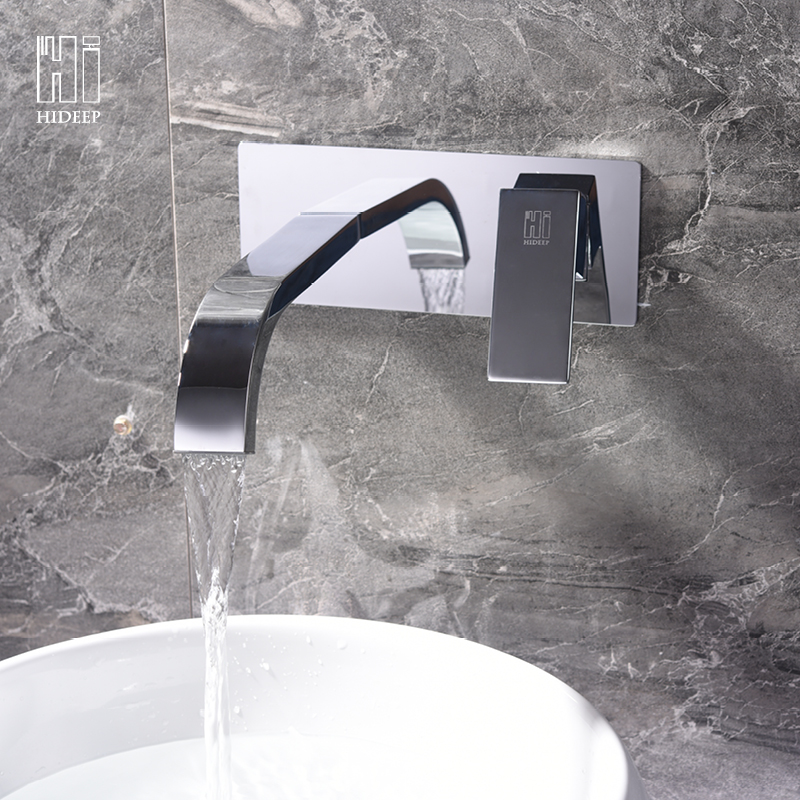 HIDEEP Смеситель для умывальника hideep toliet bidet hand held portable bidet sprayer shattaf toilet shower spray set tap