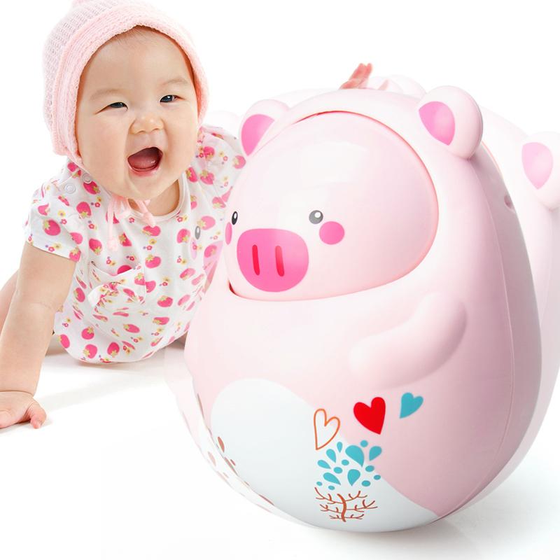 JD Коллекция свиньи тумблер дефолт ulti керри aozhijia раннего детства образовательные детские игрушки умиротворить manhattan кэдди gutta молочные зубы могут укусить схватив мяч 1688 a