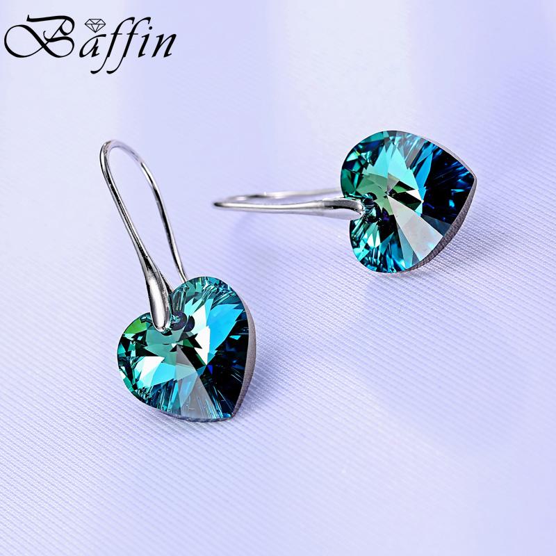 Baffin Синий цвет swarovski swarovski родия гальваническим проколол серьги серьги костюм 5181485