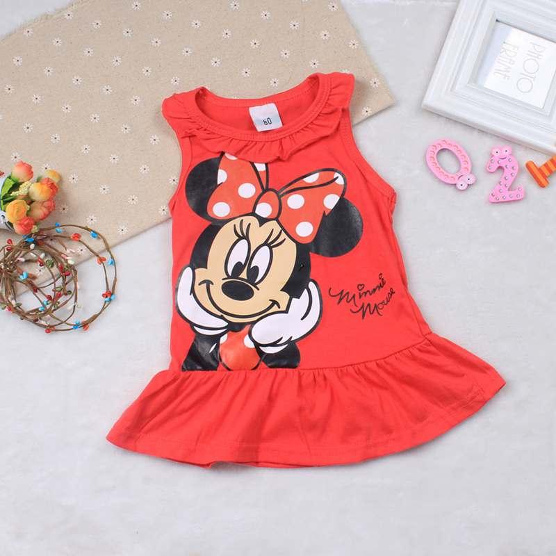 BBYIFU Красный цвет 90 платья для девочек