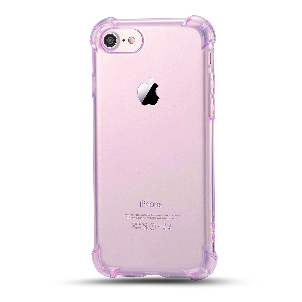 keymao Пурпурный розовой красный цвет gumai silky case for iphone 6 6s black