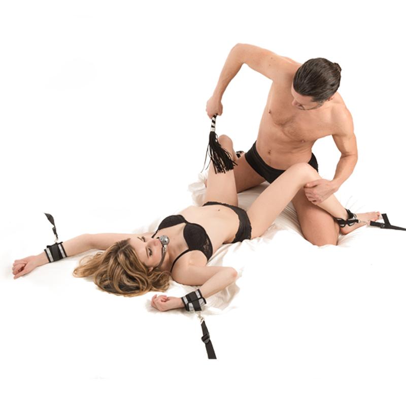 JD Коллекция Пять частей кровати связали кабалы дефолт хакеры sm поставляет привязанные связанные игрушки для секса для взрослых 10 наборов мужа и жены поставляет альтернативные игрушки