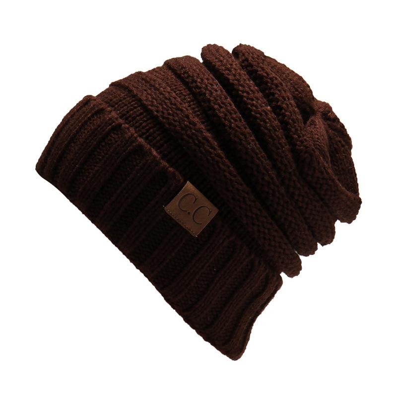 MEGIR Темно-коричневый the new bonnet embroidery hat men s winter beanie man skullies knitted wool beanies men winter hats hip hop caps autumn gorros