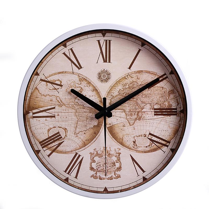 Baitu9168 Белый 004 creative mathematical symbol wall clock white black 1 x aa