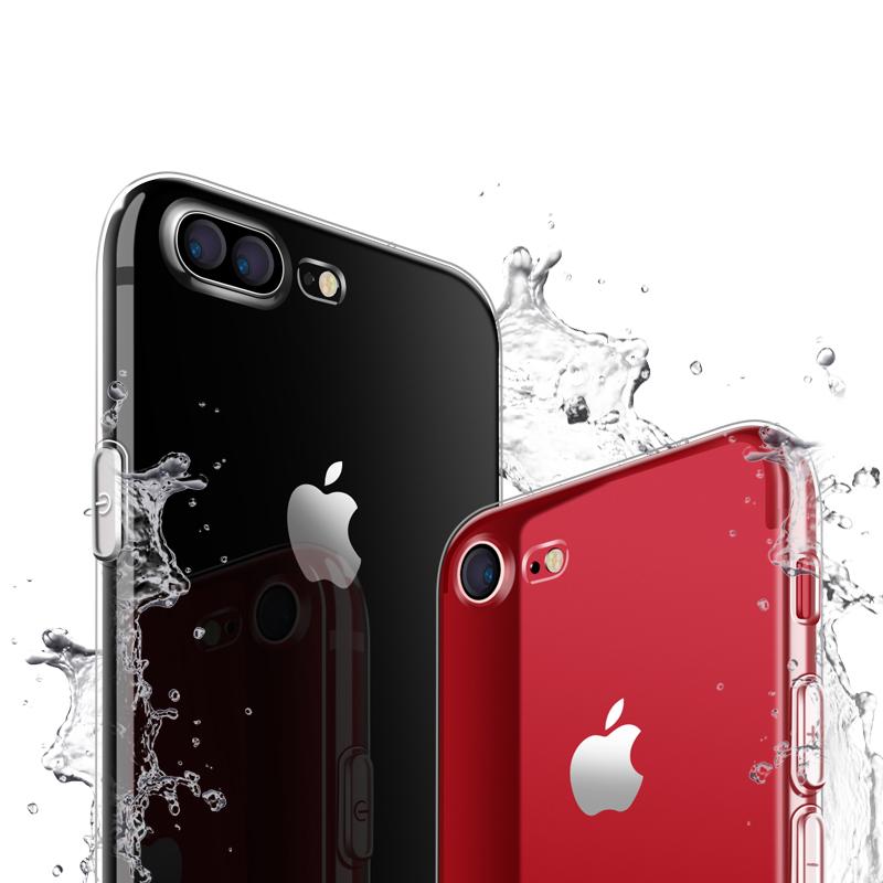 JD Коллекция Универсальные базовые модели iPhone7 8 прозрачный дефолт yomo s8 samsung мобильный телефон оболочки мобильный телефон защитный рукав оболочки телефон рельеф s8 текстура коры mosaic