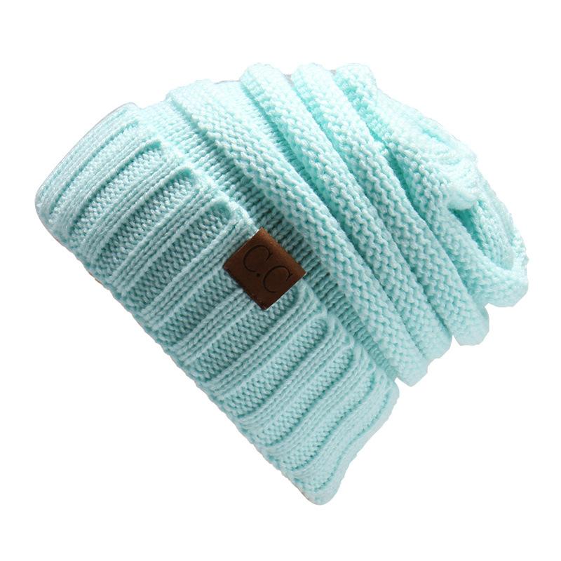 MEGIR Синий цвет the new bonnet embroidery hat men s winter beanie man skullies knitted wool beanies men winter hats hip hop caps autumn gorros