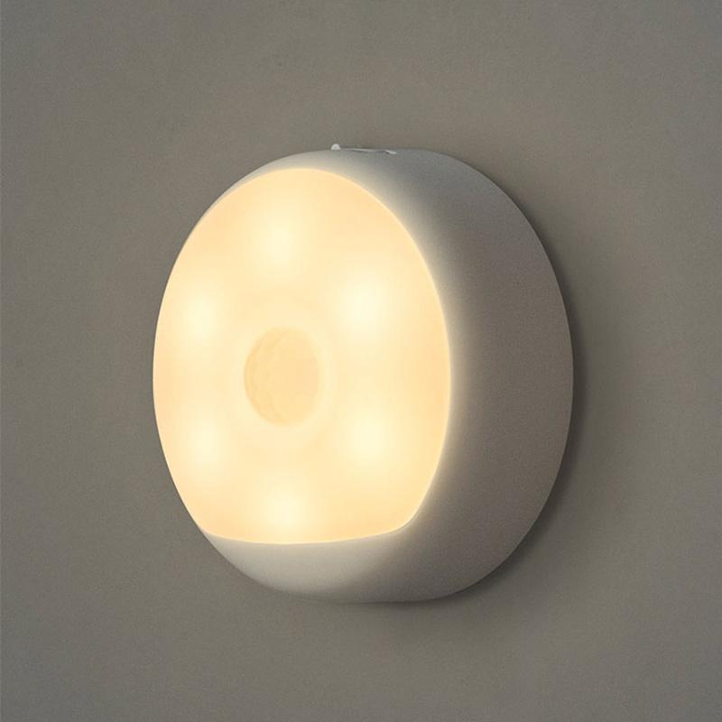 JD Коллекция yeelight ночник светодиодный заряжаемый с датчиком движения