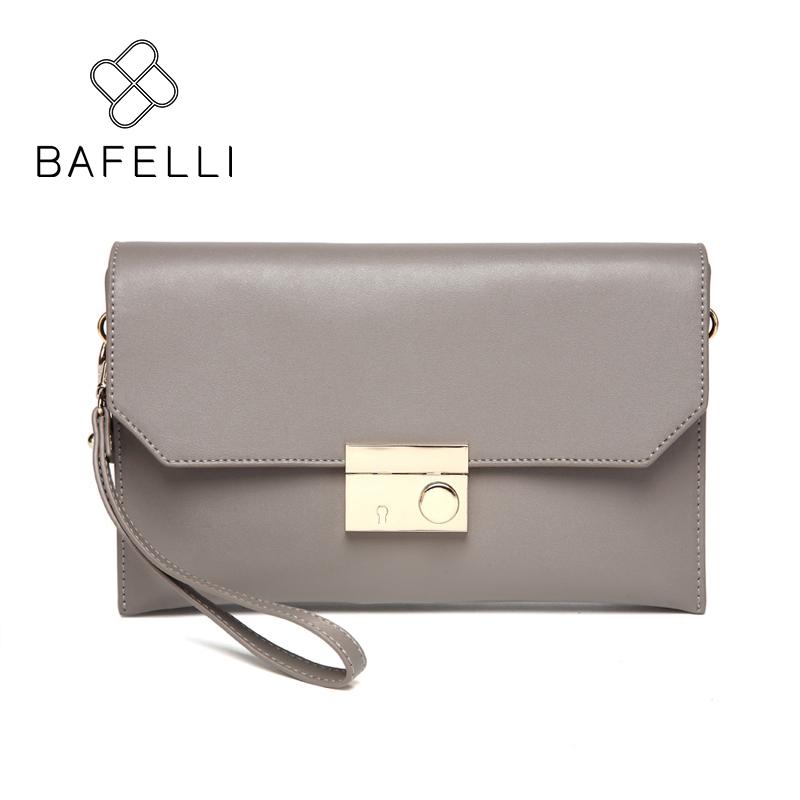 BAFELLI Серый bafei li bafelli бамбук сумка ретро седло мешок плеча рука сумка черная ba1 8h0107
