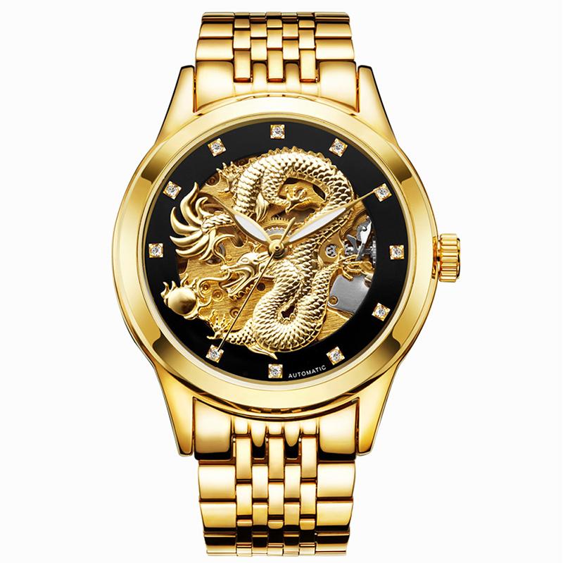 MEGIR Белая тарелка кожанная ремень женские часы золотые часы