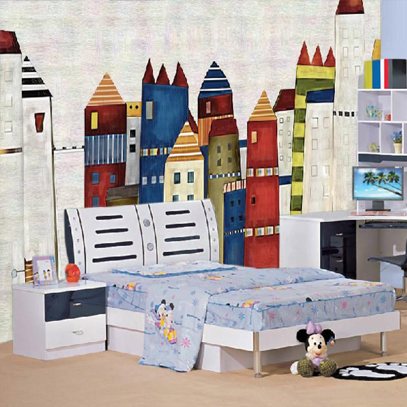 Colomac Смешанный цвет custom papel de parede infantil treasure island and pirate ship 3d cartoon mural for bedroom children s room wallpaper