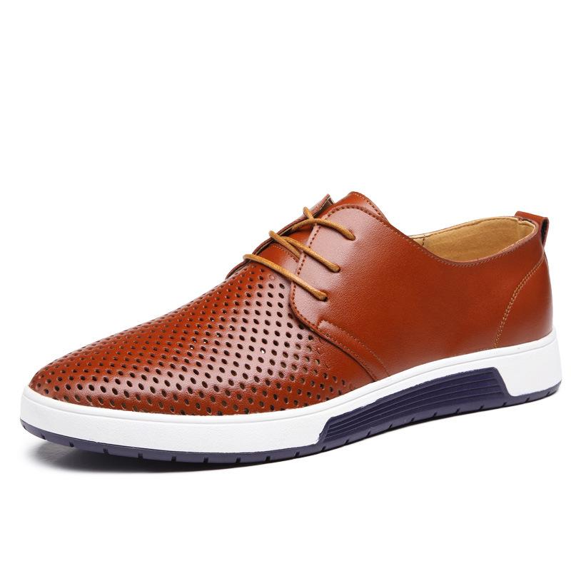 MEGIR Коричневый цвет 85 ярдов женская обувь на плоской подошве 2015