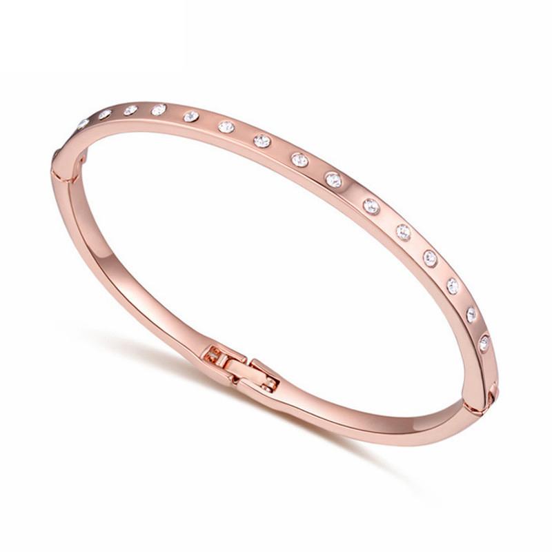Baffin Розовой золотой цвет u7 широкий браслет часов реального позолоченные моды мужчин украшения оптовой новой модной уникальный 1 5 см 20 см звено цепи браслеты
