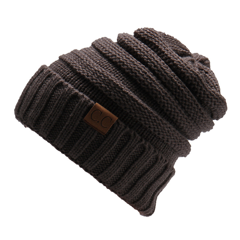 MEGIR Темно-серый the new bonnet embroidery hat men s winter beanie man skullies knitted wool beanies men winter hats hip hop caps autumn gorros