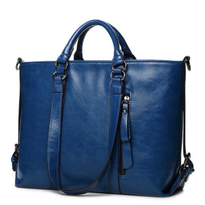 MEGIR Синий женщины pu кожа сумочкакожаные сумки messenge