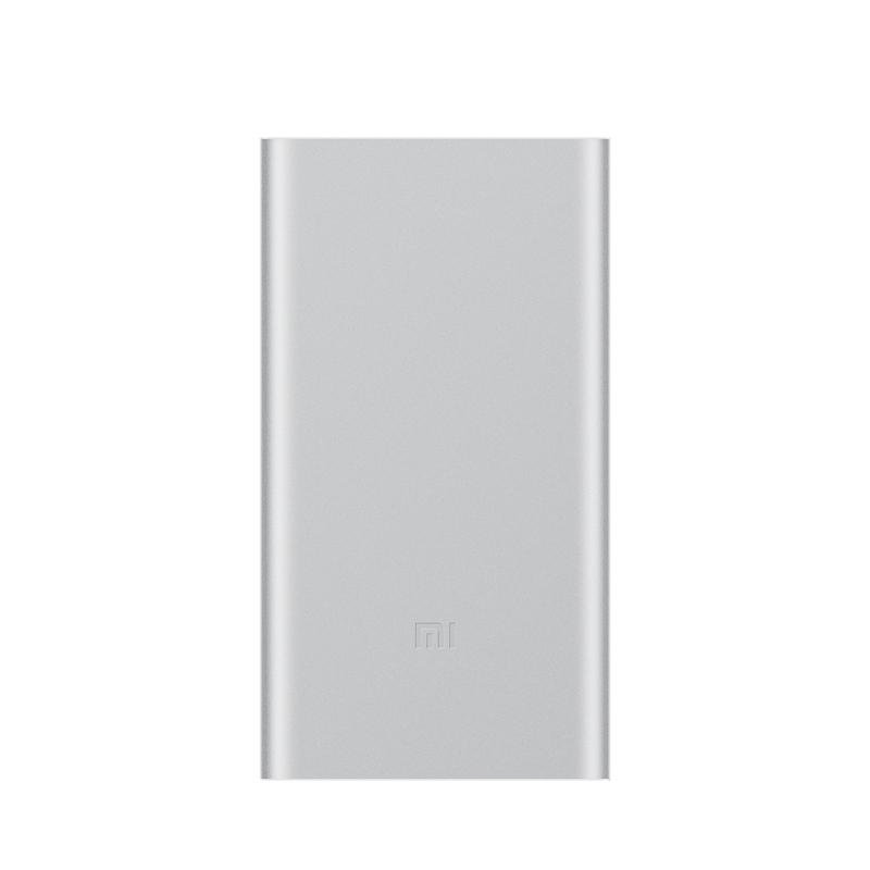 Mi Серебристый цвет 10000mAh внешний аккумулятор xiaomi mi power bank 2 1a usb microusb 10000mah серебристый ndy 02 an