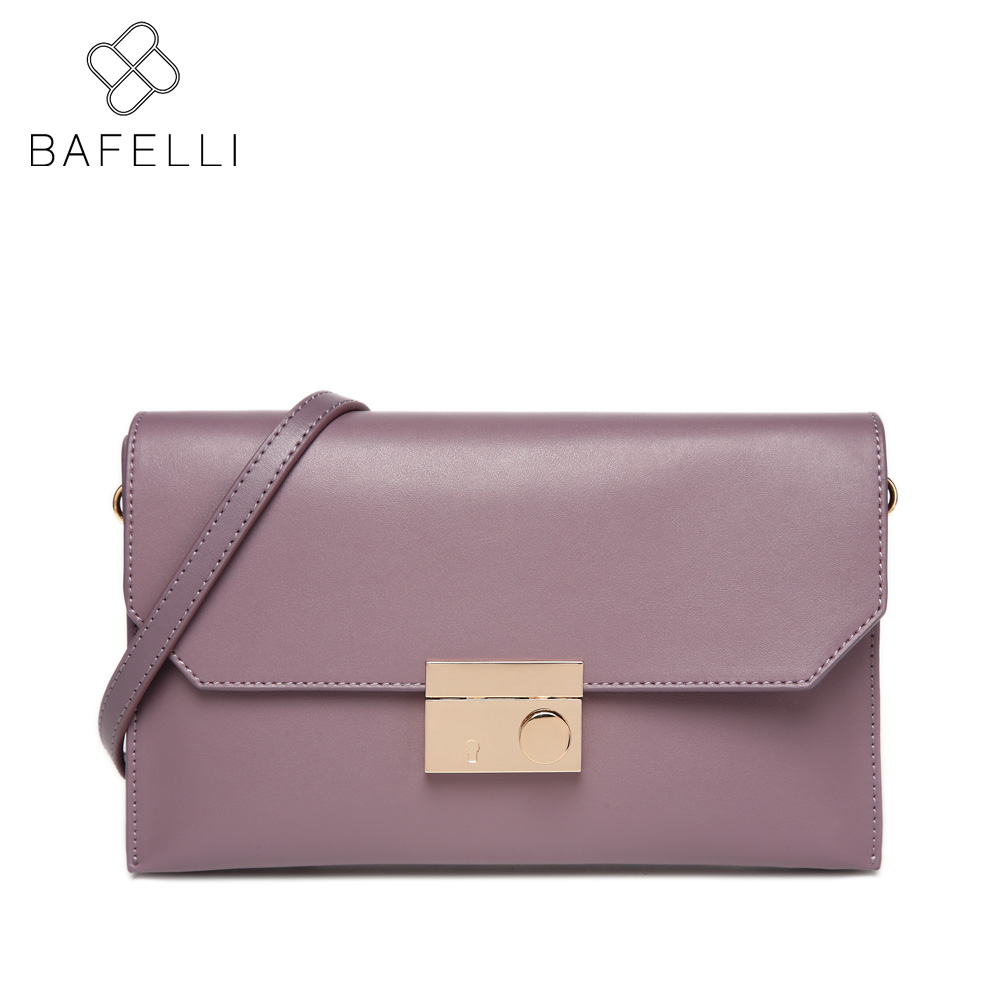 BAFELLI Пурпурный bafei li bafelli бамбук сумка ретро седло мешок плеча рука сумка черная ba1 8h0107
