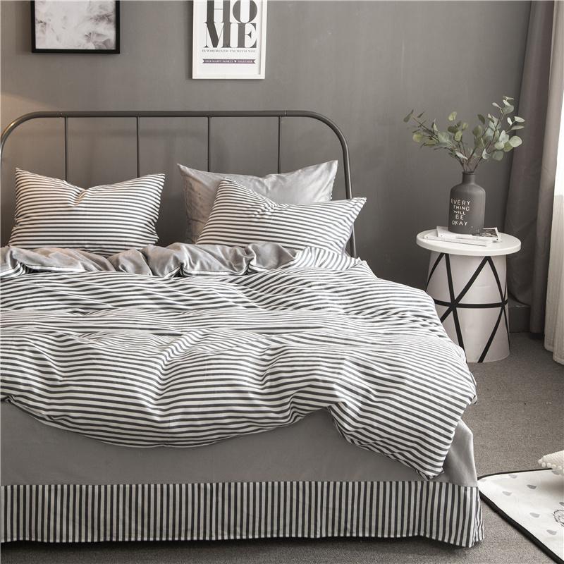Brata джентльмен - серый стандартный размеродеяло200230cm mercury постельные принадлежности набор 4 штуки простыня с набивной чехол на одеяло 100