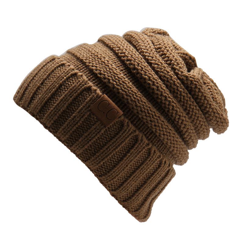MEGIR светло - коричневый the new bonnet embroidery hat men s winter beanie man skullies knitted wool beanies men winter hats hip hop caps autumn gorros