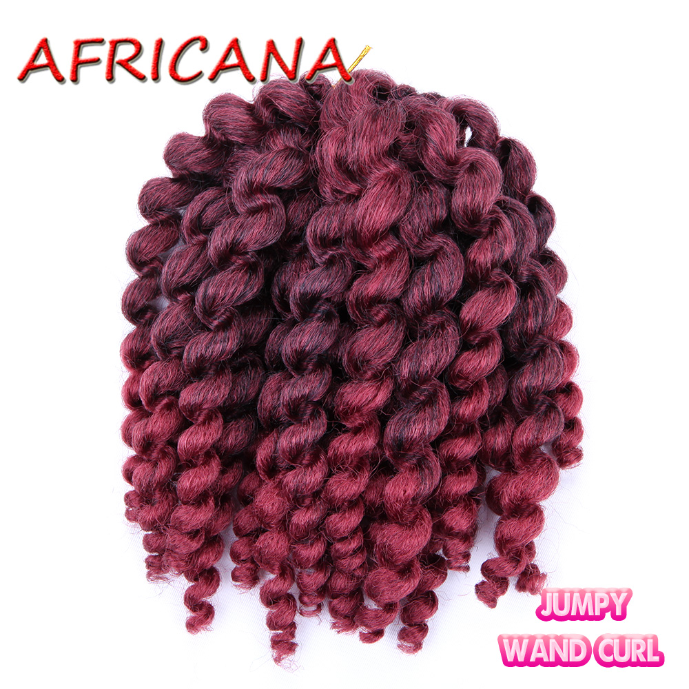 SAMBRAID T1BBurgundy bulk hair for braiding 100