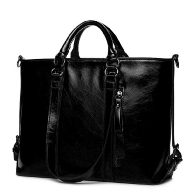 MEGIR Черный женщины pu кожа сумочкакожаные сумки messenge
