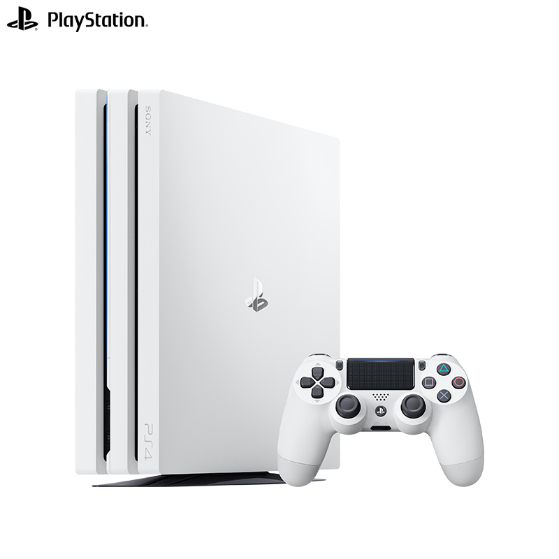 JD Коллекция PS4 Pro 1TB белый дефолт игровая приставка sony playstation 4 pro 1tb