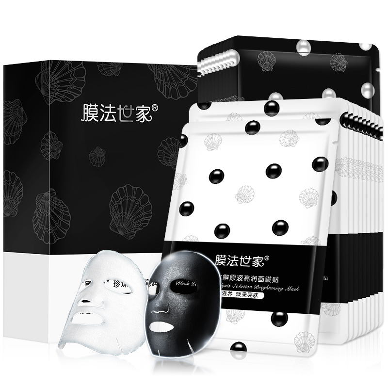 JD Коллекция дефолт дефолт мембранная семья маска 25g 1 лист волокно