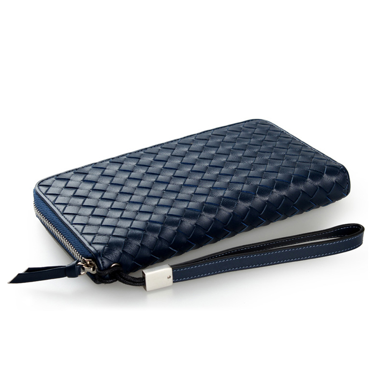 PKUONE Синий цвет кошельки бумажники и портмоне narvin 9669 n vegetta funduk
