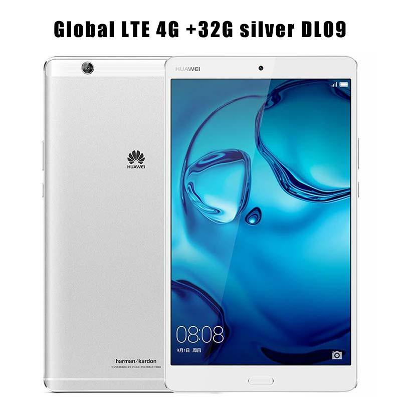 HUAWEI LTE 32G Silver DL09 huawei m3 4g 128g