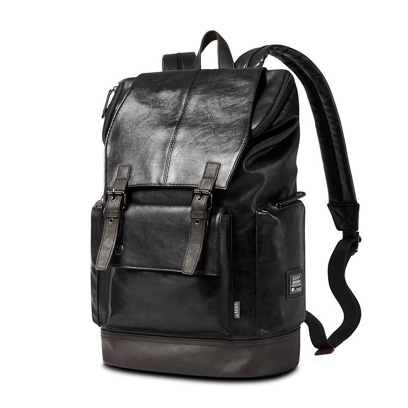 JD Коллекция PU кожа черная дефолт рюкзак k 905 pu